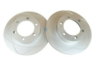 2 Front Disc Brake Rotors For Toyota 4runner 1996 2002 Tacoma 2004 318mm O d