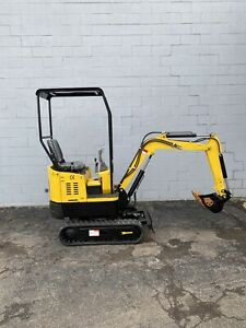 New New New 1ton Mini Excavator 4 Attachmentsgasoline Only 2 Left Available