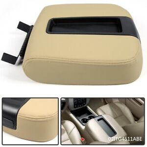 Beige Front Center Console Armrest Lid For Chevy Gmc Silverado Sierra 19328718