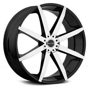 Akuza 843 zenith 18 Inch 5x115 120 Wheel Rim 18x8 20 Gloss Black