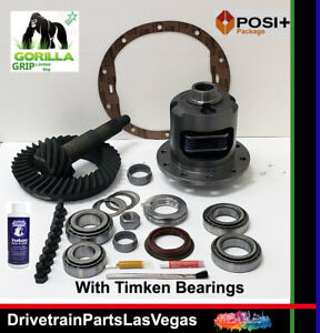 Gm Chevy 8 5 10 Bolt Posi Limited Slip 3 42 Gear Set Master Gorilla Grip Timken