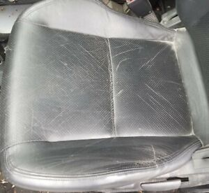 Left Driver Seat Bottom Cushion Cover Only 02 04 Rsx Type S Black Leather Front