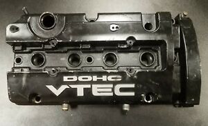 97 01 Modified Prelude Oem H22a4 Vtec Valve Cover W An Fittings H22