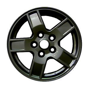 Refinished Black 17x7 5 Wheel Rim For 2005 2007 Jeep Grand Cherokee 17