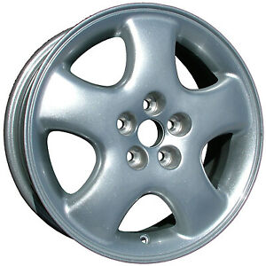 Refinished Silver 16x6 Wheel Rim For 2001 2002 Pt Cruiser 16