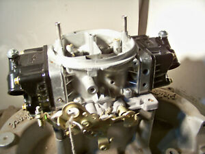 Holley 4781 850 Cfm Double Pumper Tumble Polished And Rebuilt