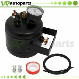 0 5 Gallon 150 Psi Black Air Tank Gauge Switch Kit For Train Truck Horn