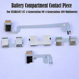 For Fluke187 87 4 89 4generation 189multimeter Battery Compartment Contact Piece