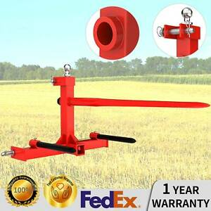 3 Point Hay Bale Spear Hay Mover Trailer Hitch Receiver Cat W Gooseneck Ball