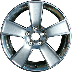 Refinished Silver 18x8 5 Wheel Rim For 2006 2009 Ford Mustang 18