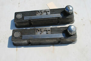 Pair Of Mickey Thompson Chevy Small Block Valve Covers