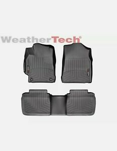 Weathertech Floorliner Custom Floor Mats For Toyota Camry 2015 2017 Black Used