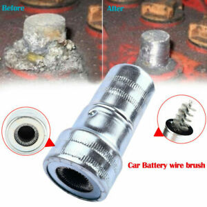 Car Cleaning Battery Post Terminal Cable Cleaner Dirt Corrosion Brush Tools P6k7