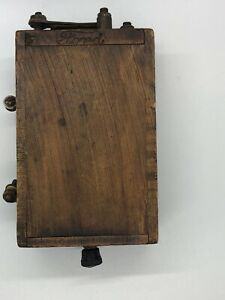Antique Ford Model T Wooden Buzz Box Ignition Coil Vintage Partially Tested