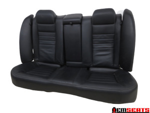 Dodge Charger Rear Oem Leather Seat 2011 2012 2013 2014 2015 2016 2017 2018
