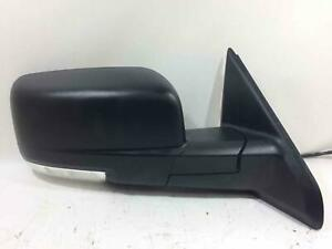 2009 2012 Dodge Ram Door Mirror Passenger Right Power Signal Textured Black