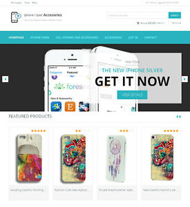 Iphone Accessories Website Turnkey Amazon Affiliate Store
