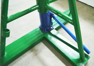 Hydraulic Wire Cable Reel Spool Stand Dispenser Holder Puller