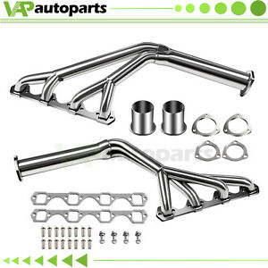 Long Tube For 64 70 Ford Mustang 5 0 260 302 V8 Ss Tri y Exhaust Header Manifold