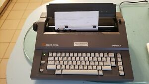Vintage Ta Adler Royal Meteor Ii Electric Typewriter With Cover