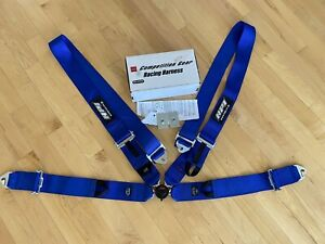 Hpi 4 Point Racing Seat Harness Blue Left