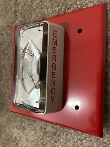 Edwards Est 405 3a t Fire Alarm Strobe rare Labeled Emergency 30cd