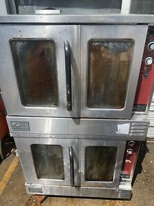 Southbend Double Stack Convection Oven Nat Gas 115 Volts 1 Ph Tested New Blowers