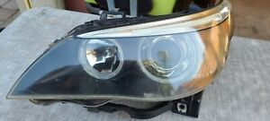 2004 2007 Bmw 525i Xenon Hid Head Light Headlight Assembly Driver Side Oem
