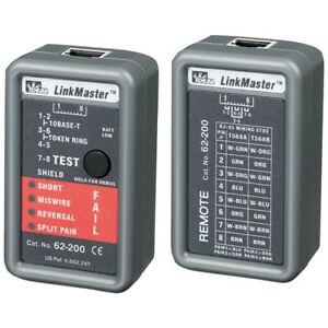 Ideal Networks 62 200 Linkmaster Cable Tester The Consists Of