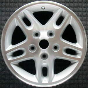 Jeep Grand Cherokee Machined W Silver Pockets 16 Inch Oem Wheel 2002 To 2004