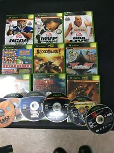 List Of Original Xbox Games Disc Only And W Case Please Look NIN $9.99