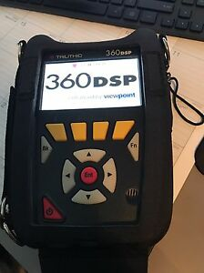 Trilithic 360 360dsp Triple Play Docsis 3 0 Cable Meter W Car Wall Charger