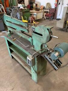 Pexto Roper Whitney No 299 Ring And Circle Sheet Metal Shear 3 4 Hp 3 ph