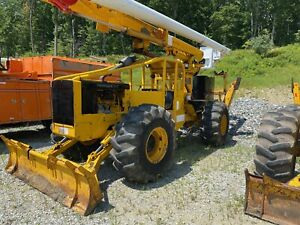 Timberjack 240e 4x4 Articulating Log Skidder With Over center Bucket And Winch