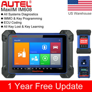 Autel Im608 Xp400 Obd2 Auto Diagnostic Scan Tool Immo Remote Key Programming