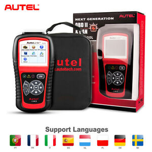 Autel Autolink Al519 Obd2 Eobd Engine Code Reader Auto Scan Car Diagnostic Tool