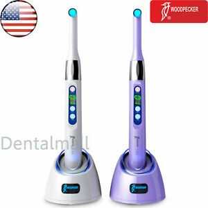 Usa Woodpecker I Led Dental Wireless 1 Second Led Curing Light Lamp 2300 Mw cm2