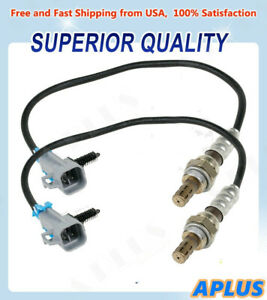 2pcs Upstream Downstream O2 Oxygen Sensor For Chevy 1500 5 3l Gmc 234 4668