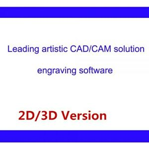 Leading Artistic Type3 Cad Cam Engraving Software 2d 3d Version