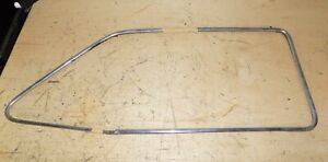 51 1951 Ford Coupe Lh Door Window Stainless Trim Molding