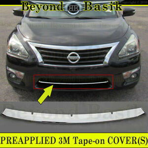 For 2013 2014 2015 Nissan Altima 4dr Chrome Grill Trim Lower Bumper Overlay
