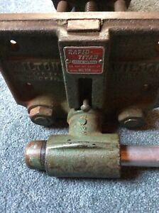 Used Wilton Rapid Titan Bench Vise 4x7 Inch Face Threads Well 9 Open U