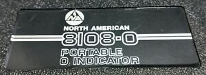 North American 8108 0 Post Combustion Portable Oxygen Analyzer