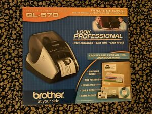 New In Box Brother Ql 570 Professional High Resolution Thermal Label Printer