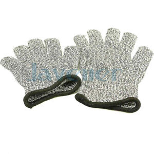 2pcs Child Hppe Outdoor Anti cut Cut Proof Stab Resistantsafety Working Gloves