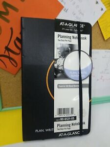 At a glance Plan Write Remember Planning Notebook Two Days Per Page 5 1 8 X 8