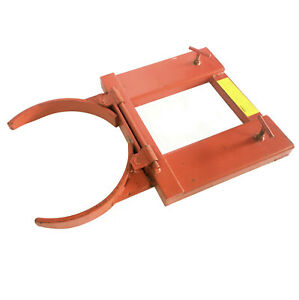 Will Ship Wesco Dj adj For Mounted Steel Drum Grab Forklift Attachment 1500 Max