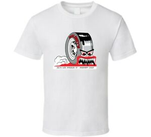 Vintage Hot Rod Racing T shirt Maloneys Tires