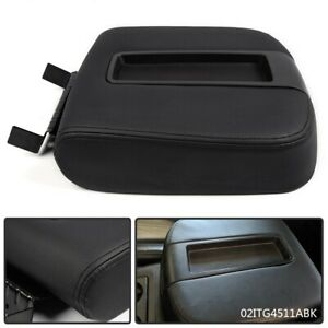 Front Center Console Lid Kit Armrest Cover For 2007 2014 Silverado Sierra 1500