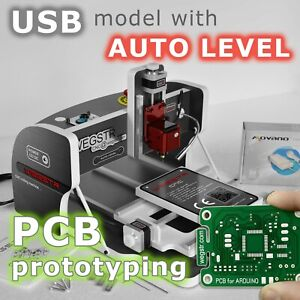 Cnc Router Engraver 3d Engraving Milling Machine For Pcb Prototyping Wegstr